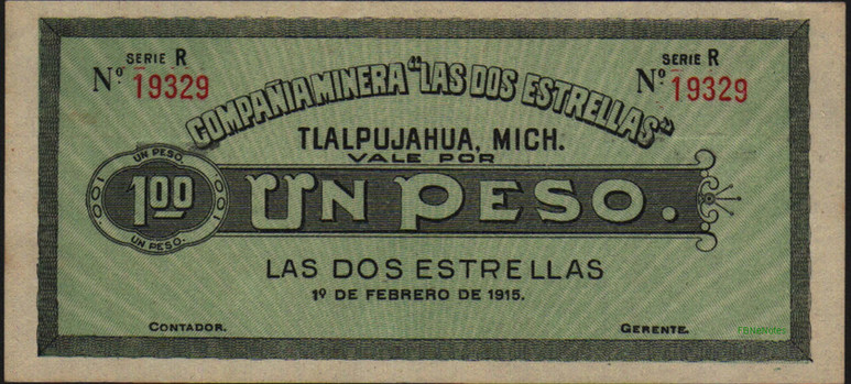 Papel Moneda 1915