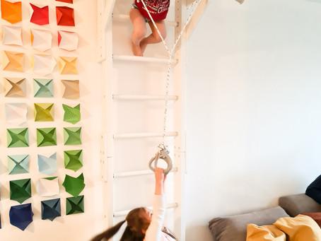Hilfe, ich habe Angst, wenn mein Kind zu hoch klettert