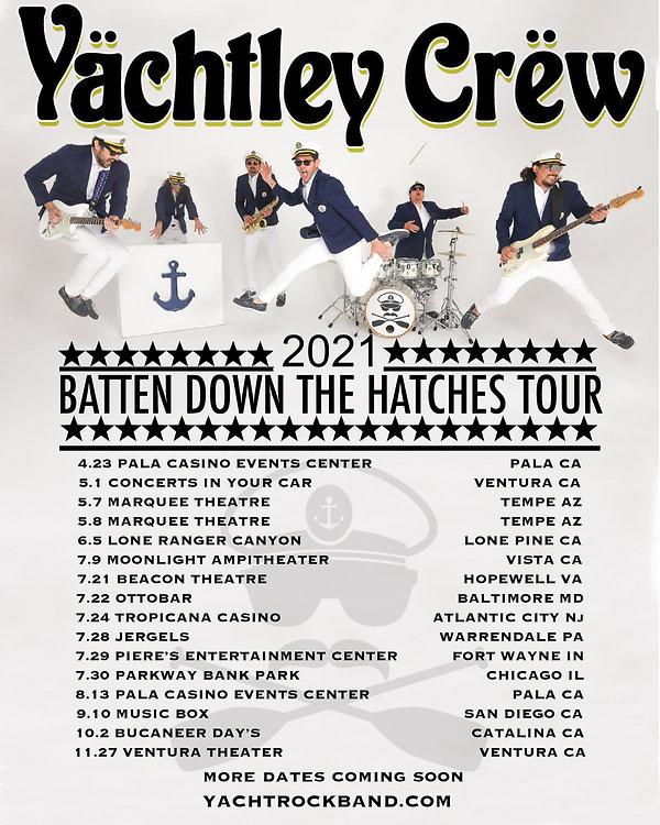 2021 Batten down the hatches tour latest