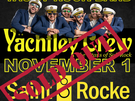November 1 Show at Saint Rocke Hermosa Beach.