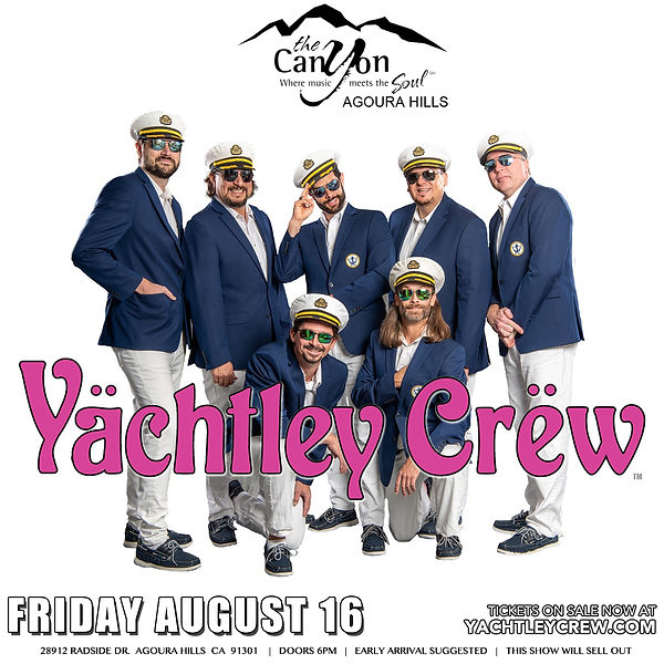 Yächtley Crëw is The Nation's Favorite Yacht Rock Band