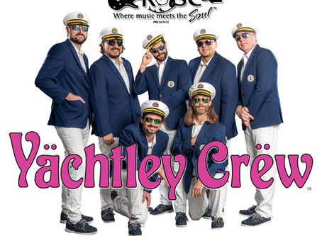 Yächtley Crëw at the Rose in Pasadena with Synchronicity (Police Tribute), & MR 80's this Friday!