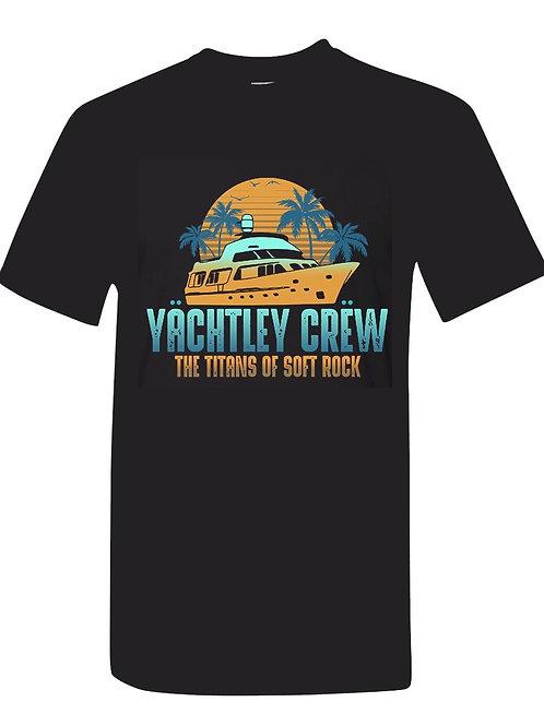 Men's Yachtley Crew Boat Logo T-Shirt black