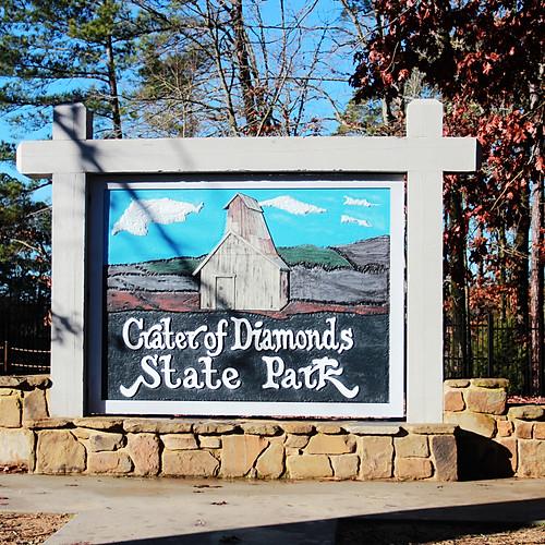 Little Rock/Craters of Diamond SP., AR