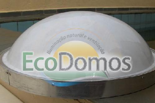 Domos Claraboias De Acrílico Redondo 0,45cm de Diâmetro