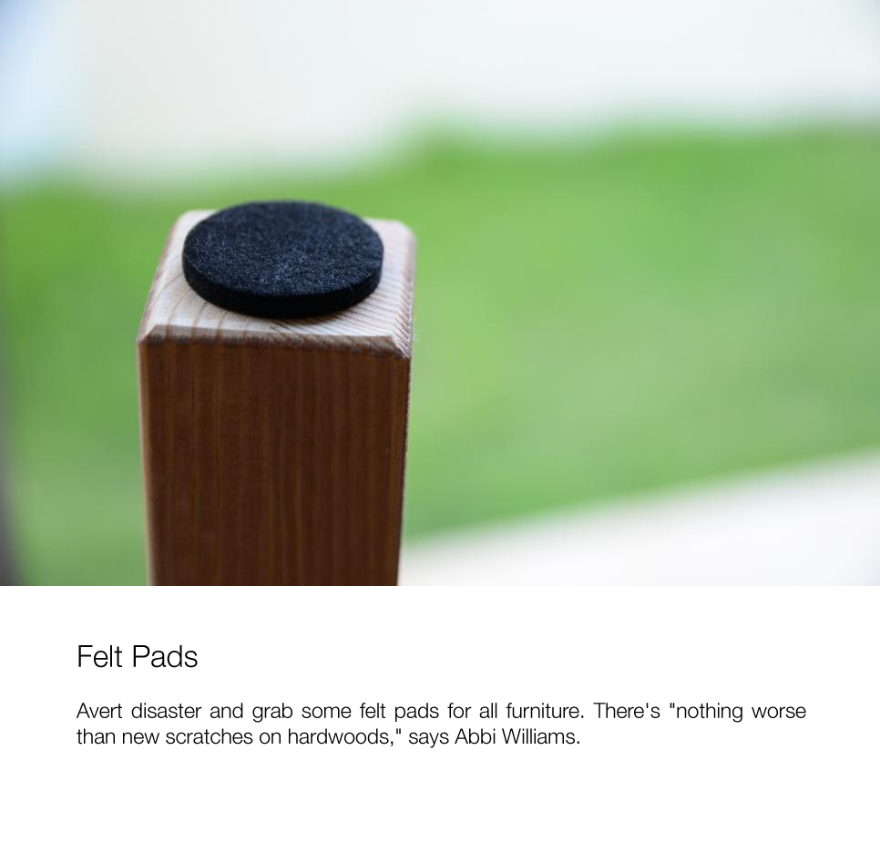 20-FELT-PADS