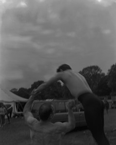 Russian acrobats