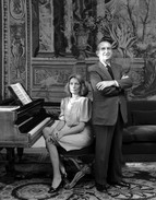 French ambassador & his wife