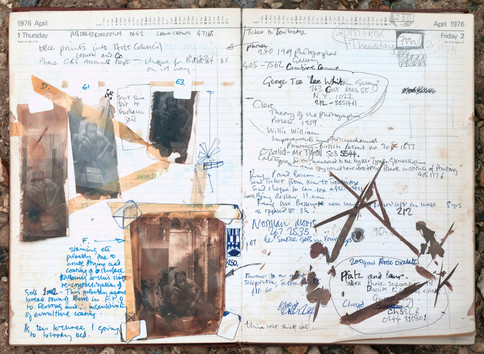 Diary April 1976