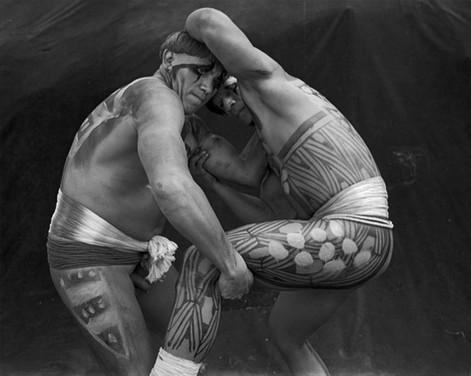 Xingu wrestlers
