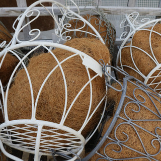 laura ashley hanging baskets