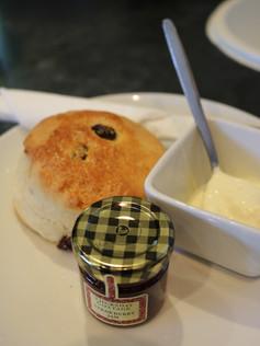 Fruit Scone with Jam & Clotted Cream
