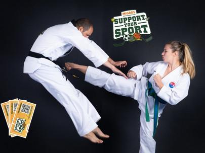 """Envie de soutenir The Real Taekwondo en participant à l'action """"Support your Sport""""?"""