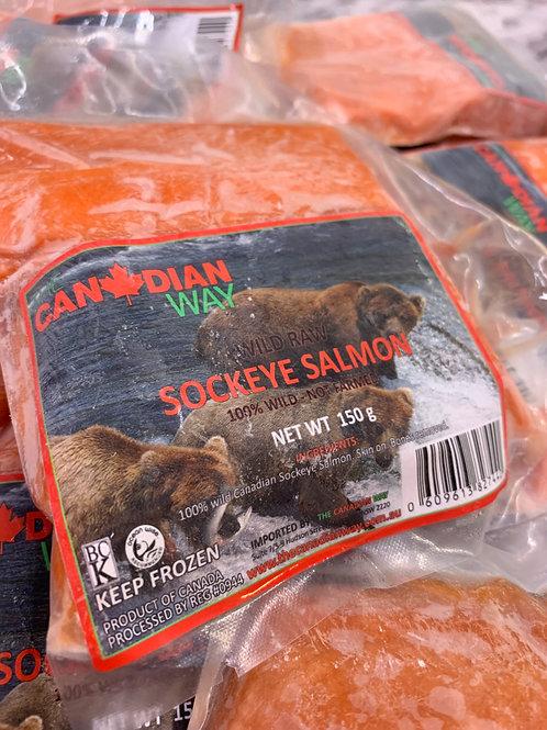 Wild Sockeye Salmon (Canada) - Frozen
