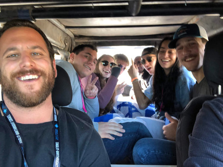 Building Bonds, Forming a Family: Staff Reflect on Birthright Israel  Winter 2018-19