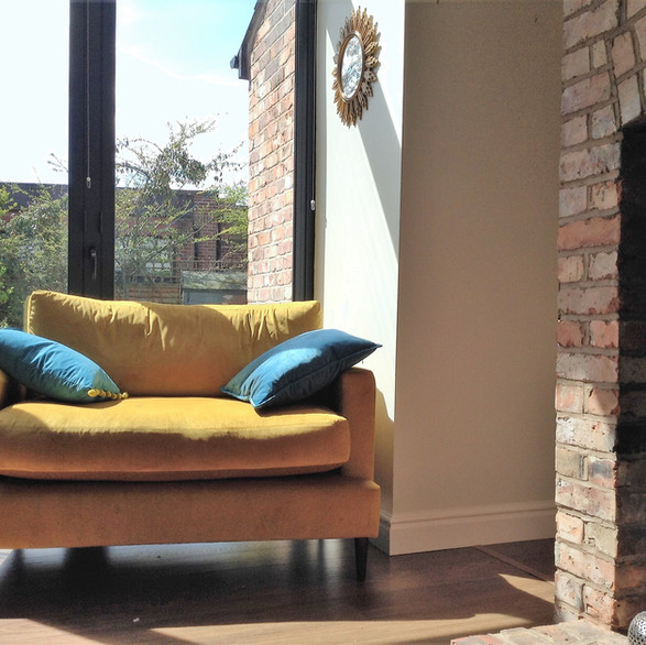 bespoke snuggler sofa by Orchard