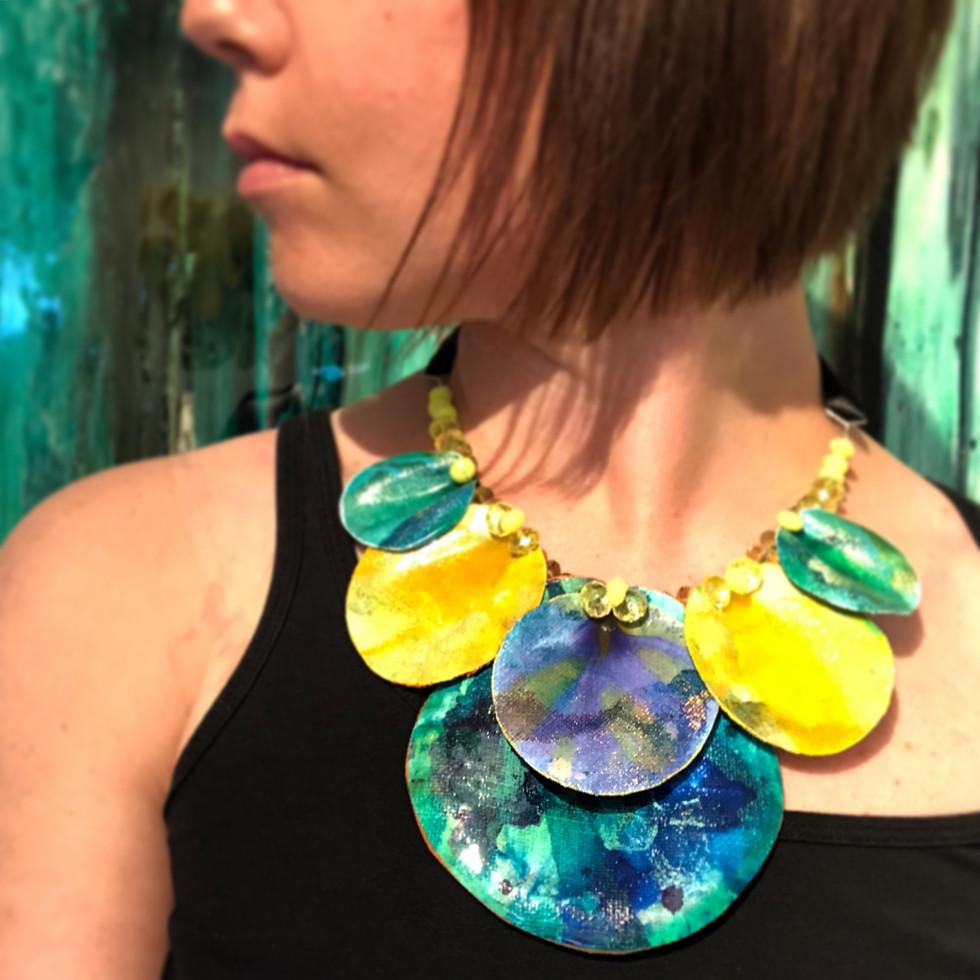 SMYCKEN!  Ett samarbete är på gång med Designer Jenny Nilsson, på bilden ser ni min prototyp som just nu förädlas av Jenny.