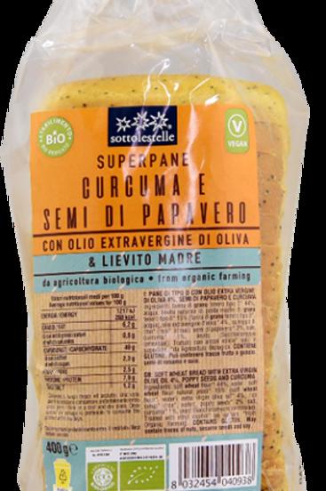 Pane Bauletto Curcuma e semi di Papavero
