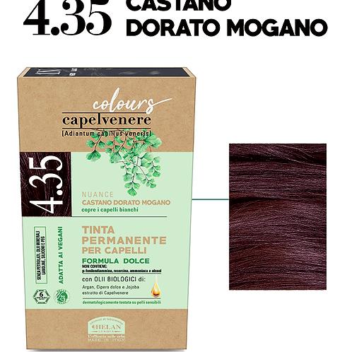 Tinta Capelli 4.35 Castano dorato Mogano