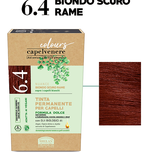Tinta Capelli 6.4 Biondo Scuro Rame