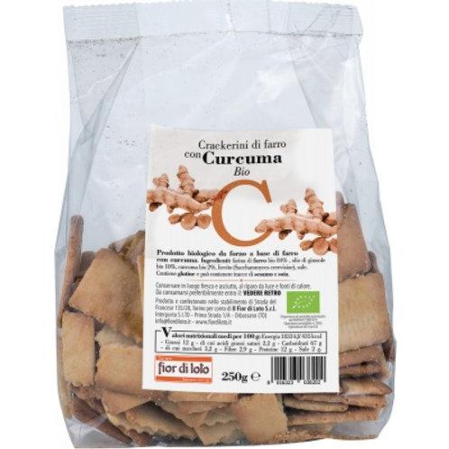 Crackerini Farro e Curcuma