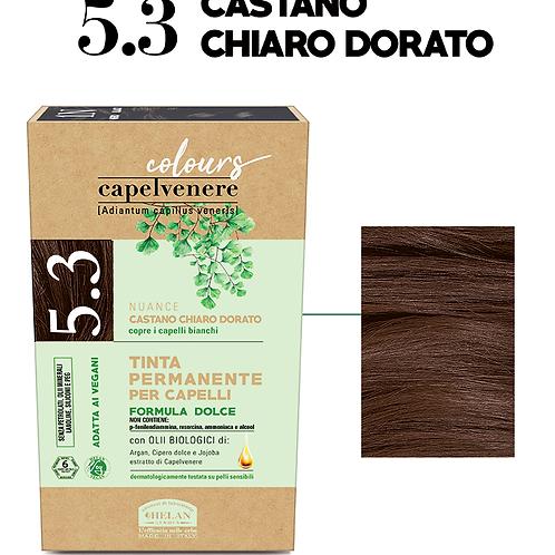 Tinta Capelli 5.3 Castano Chiaro Dorato