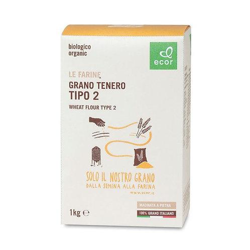 """Farina di Grano Tenero tipo """"2"""""""