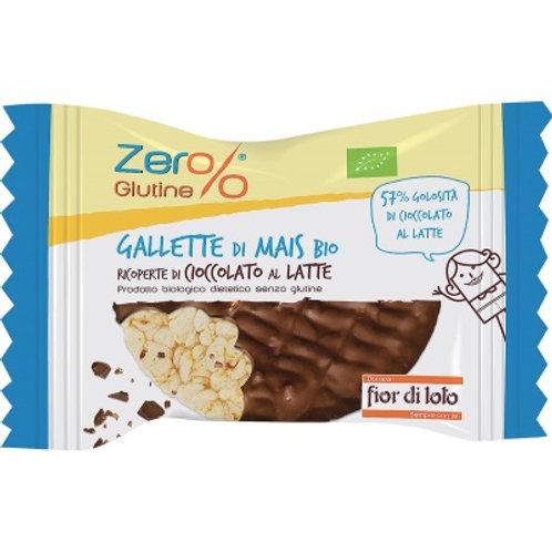 Gallette di Mais ricoperte di Cioccolato al Latte