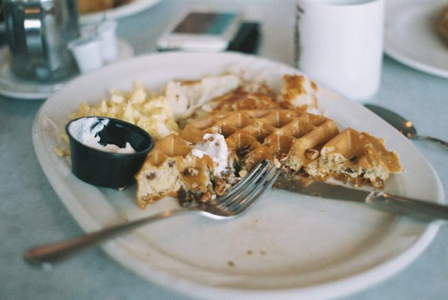 -Waffle Spot Pecan Waffles-