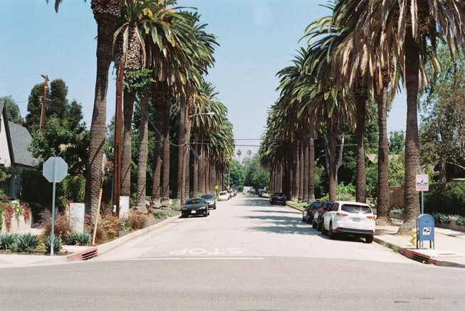 -A Street in South Pasadena-