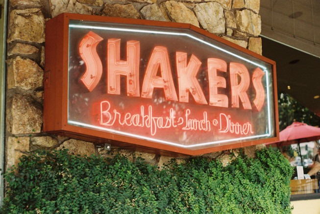-Shakers Diner: South Pasadena