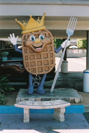 -Waffle Spot Sir Wafflelot: San Diego-