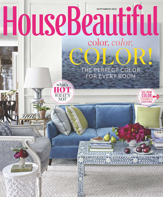 house beautiful september 2012 cover