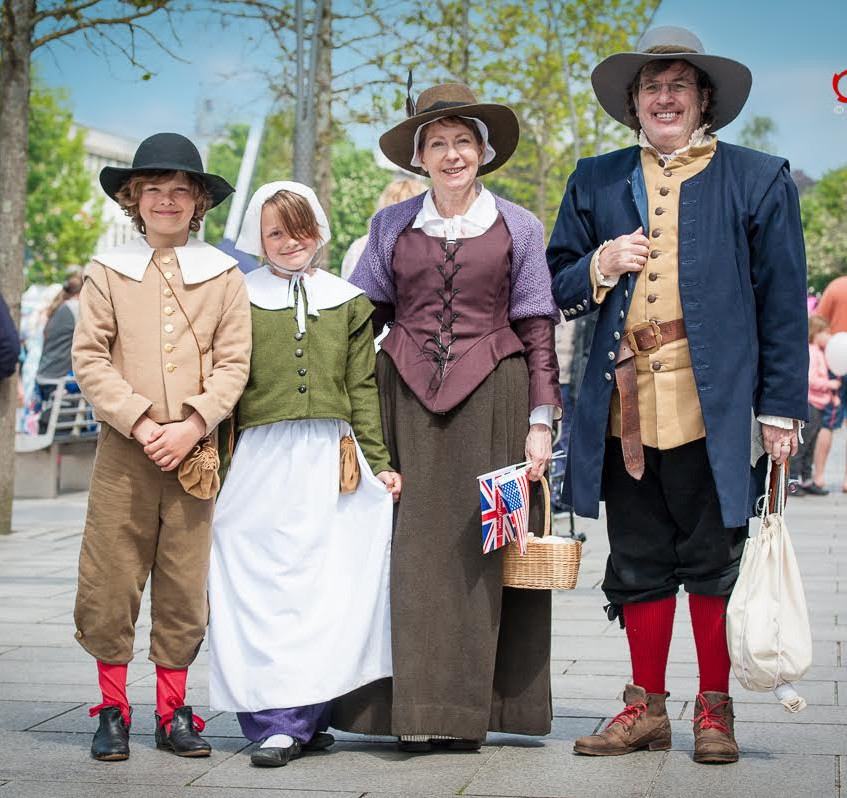 Plymouth Pilgrims Devon UK