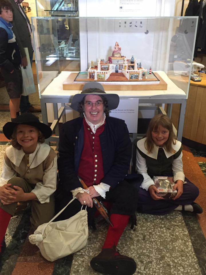 plymouth pilgrims at the museum
