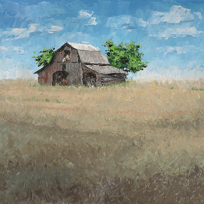 SP/ Prairie Barn 1 • 8 by 8 inches