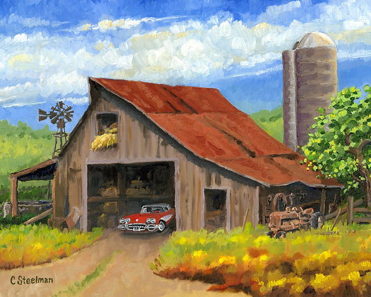 Original/ This Old Barn • 24 by 18