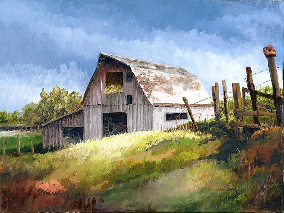 LP/ The Neglected White Barn • 16 x 12