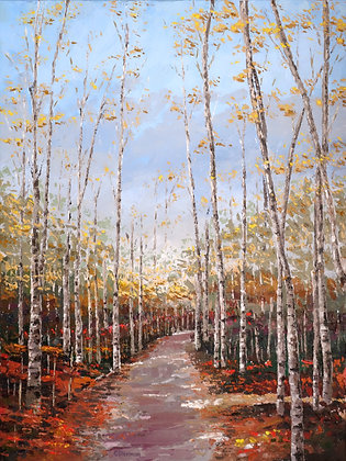 LP/ Aspen Pathway • 12 by 16 inches