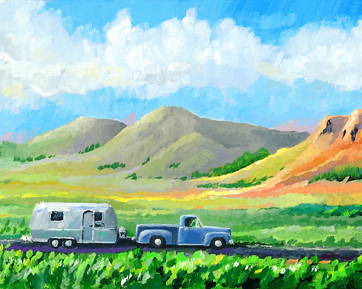 LP/ AirStream-RioGrand Valley • 16 by 12 inches