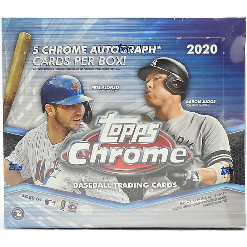 2020 Topps Chrome Jumbo Pack