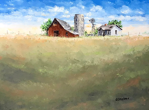 Original/ The Homestead  •  40 by 30 in