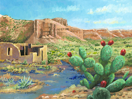 SP/ Texas Prickly Pear • 10 x 8