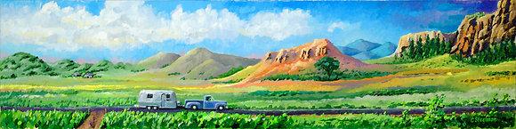 Original/ RioGrand Valley, Colorado • 56 by 14