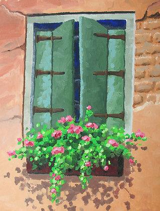 Original/ Italian Window Box 1 • 14 by 18