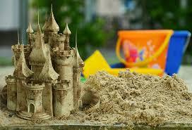 A magical sandcastle