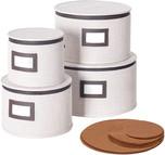 China Dinnerware Storage Containers, Set of 4