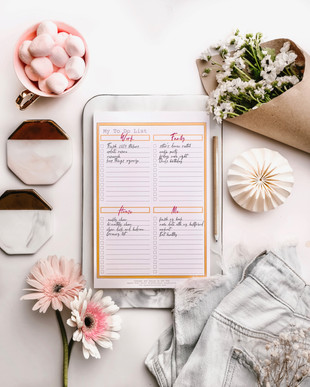 My To Do List Pad in Peach P199 ea.