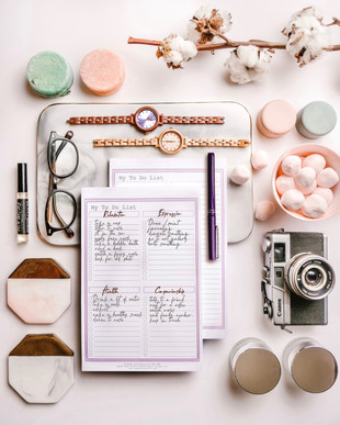 My To Do List Pad in Lavender P199 ea.
