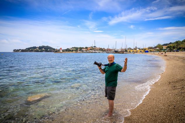 Dave in the Mediterranean